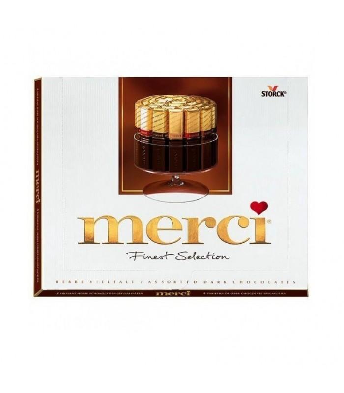 Merci شکلات تلخ کادویی مرسی