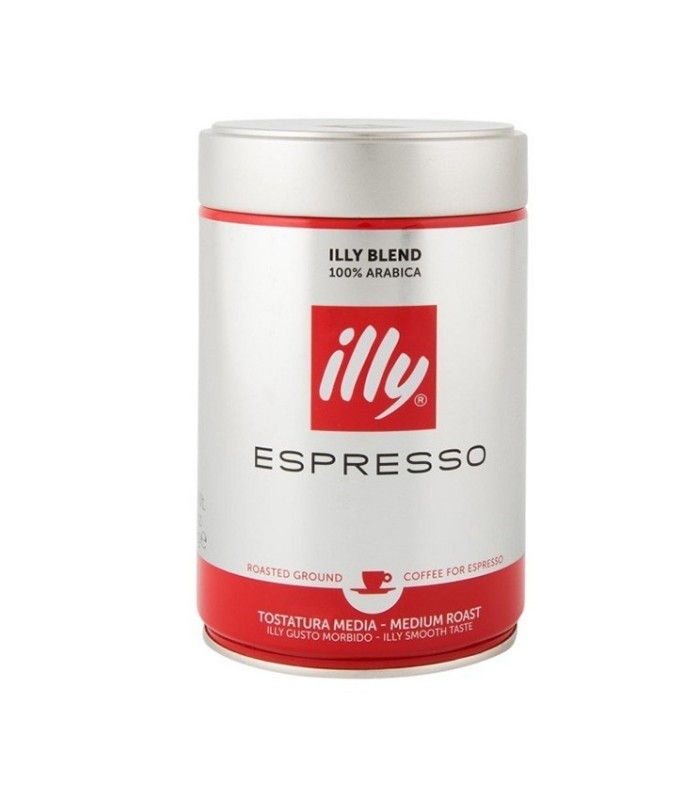 Illy پودر قهوه اسپرسو مدیوم روست 250 گرمی ایلی