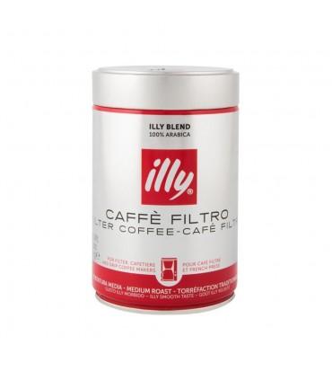 Illy پودر قهوه فیلتر مدیوم روست 250 گرمی ایلی