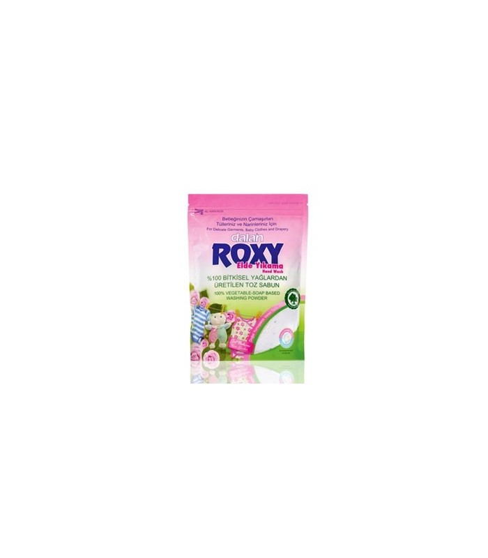 Roxy پودرصابون رایحه گل رز وحشی لباس کودک ماشینی 800 گرمی رکسی