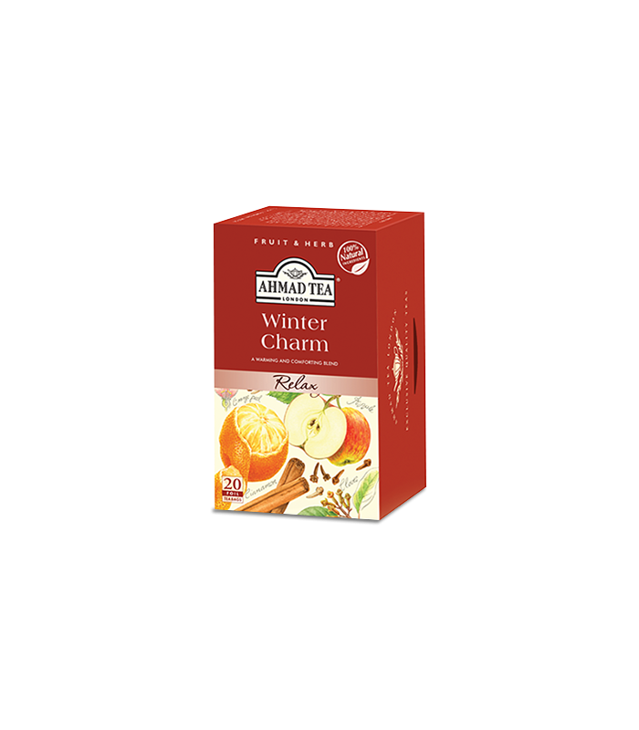 Ahmad tea چای کیسه ای سیب و دارچین احمد انگلستان