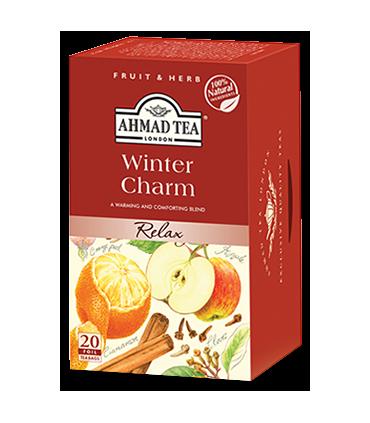 Ahmad tea چای کیسه ای سیب پرتقال و دارچین احمد انگلستان