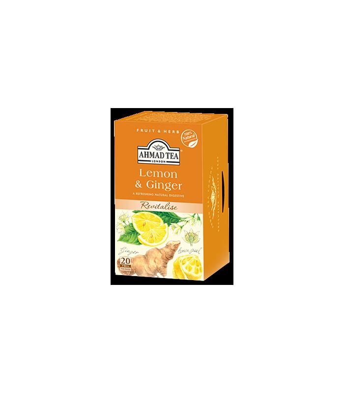 Ahmad Tea دمنوش لاغری لیمو و زنجبیل احمد انگلستان