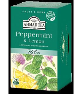 Ahmad Tea دمنوش نعنا فلفلی و لیمو احمد انگلستان
