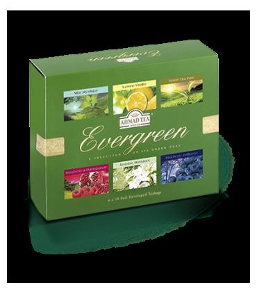 Aََhmad tea چای سبز کیسه ای احمد انگلستان در 6 طعم مختلف