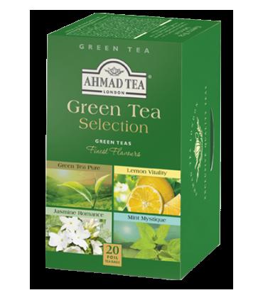 Ahmad Tea چای کیسه ای سبز با 4 طعم مختلف احمد انگلستان