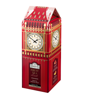 Ahmad Tea چای میوه ای طرح ساعت بیگ بن لندن احمد انگلستان