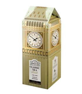 Ahmad Tea چای کلاسیک طرح ساعت بیگ بن لندن احمد انگلستان