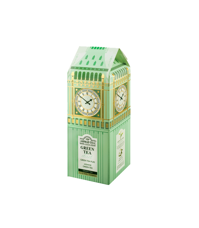 Ahmad Tea چای سبز طرح ساعت بیگ بن لندن احمد انگلستان