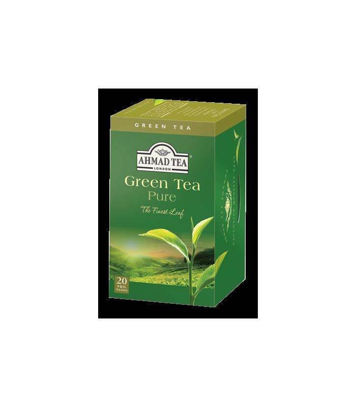 Ahmad Tea چای سبز کیسه ای خالص احمد انگلستان