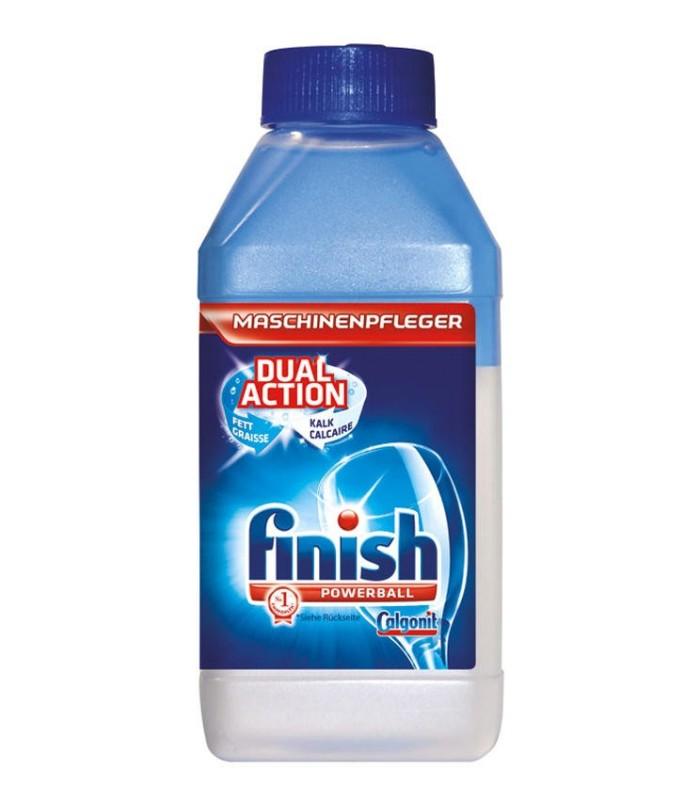 Finish پک نمک ماشین ظرفشویی 1.2 کیلوگرم و مایع جرم گیر ماشین ظرفشویی 250 میلی لیتر فینیش