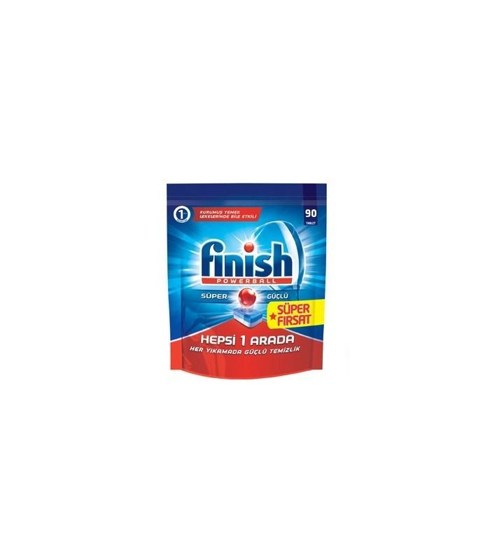 Finish قرص ماشین ظرفشویی همه کاره 90 عددی فینیش