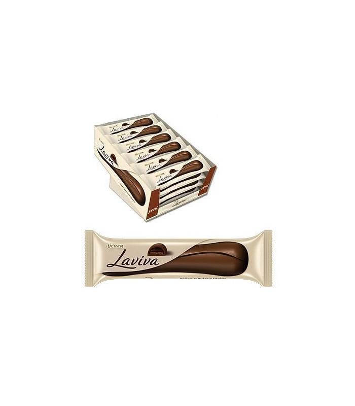 Laviva پک 24 عددی شکلات بیسکویت و کرم شکلات لاویوا