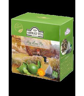 Ahmad tea چای سبز کیسه ای با طعم لیمو احمد انگلستان