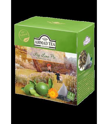 Ahmad tea چای سبز کیسه ای با طعم پای لیموسبز احمد انگلستان