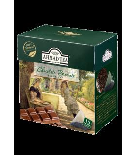 Ahmad tea چای سیاه کیسه ای با طعم براونی شکلات احمد انگلستان