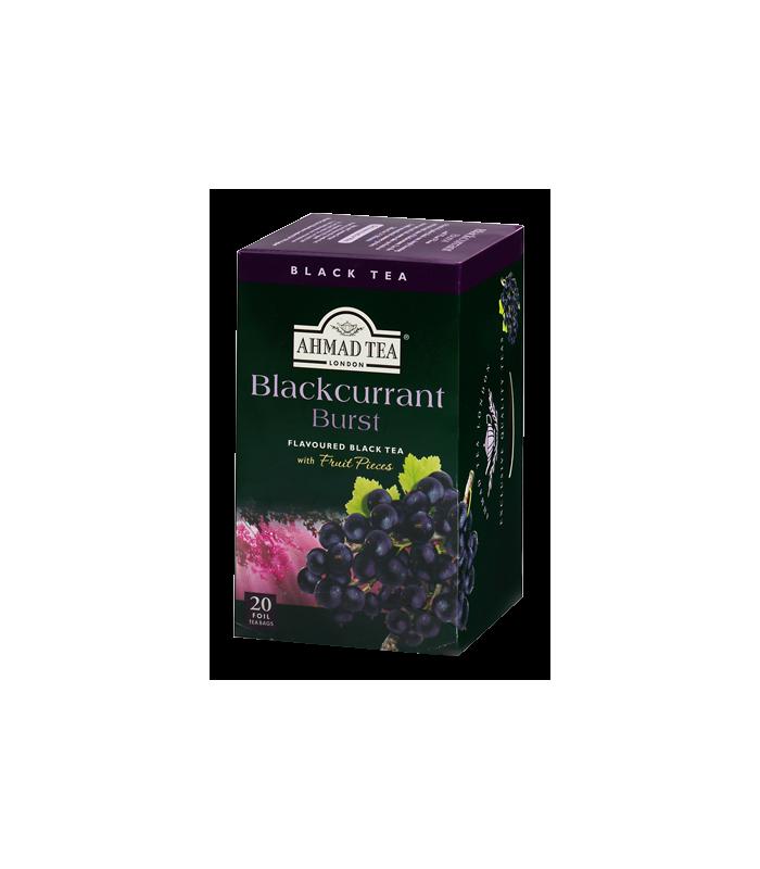 Ahmad tea چای کیسه ای با تکه های انگور سیاه احمد انگلستان