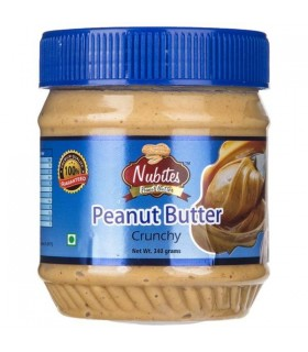 Nubites کره بادام زمینی کرانچی (با تکه های بادام زمینی) نوبایتز