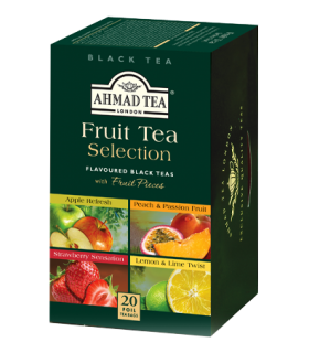 Ahmad Tea چای کیسه ای میوه ای با 4 طعم مختلف احمد انگلستان