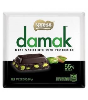 Nestle شکلات تلخ پسته ای داماک نستله