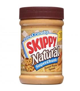 Skippy کره بادام زمینی سوپر چانک ارگانیک و بدون گلوتن 462 گرمی اسکیپی