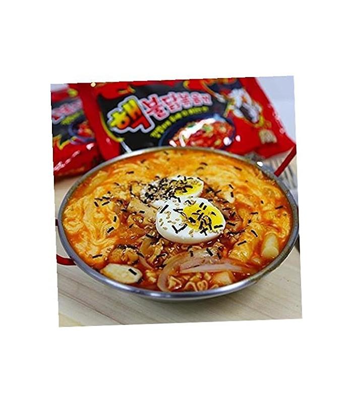 Samyang نودل رامن مرغ تند 140 گرمی سامیانگ