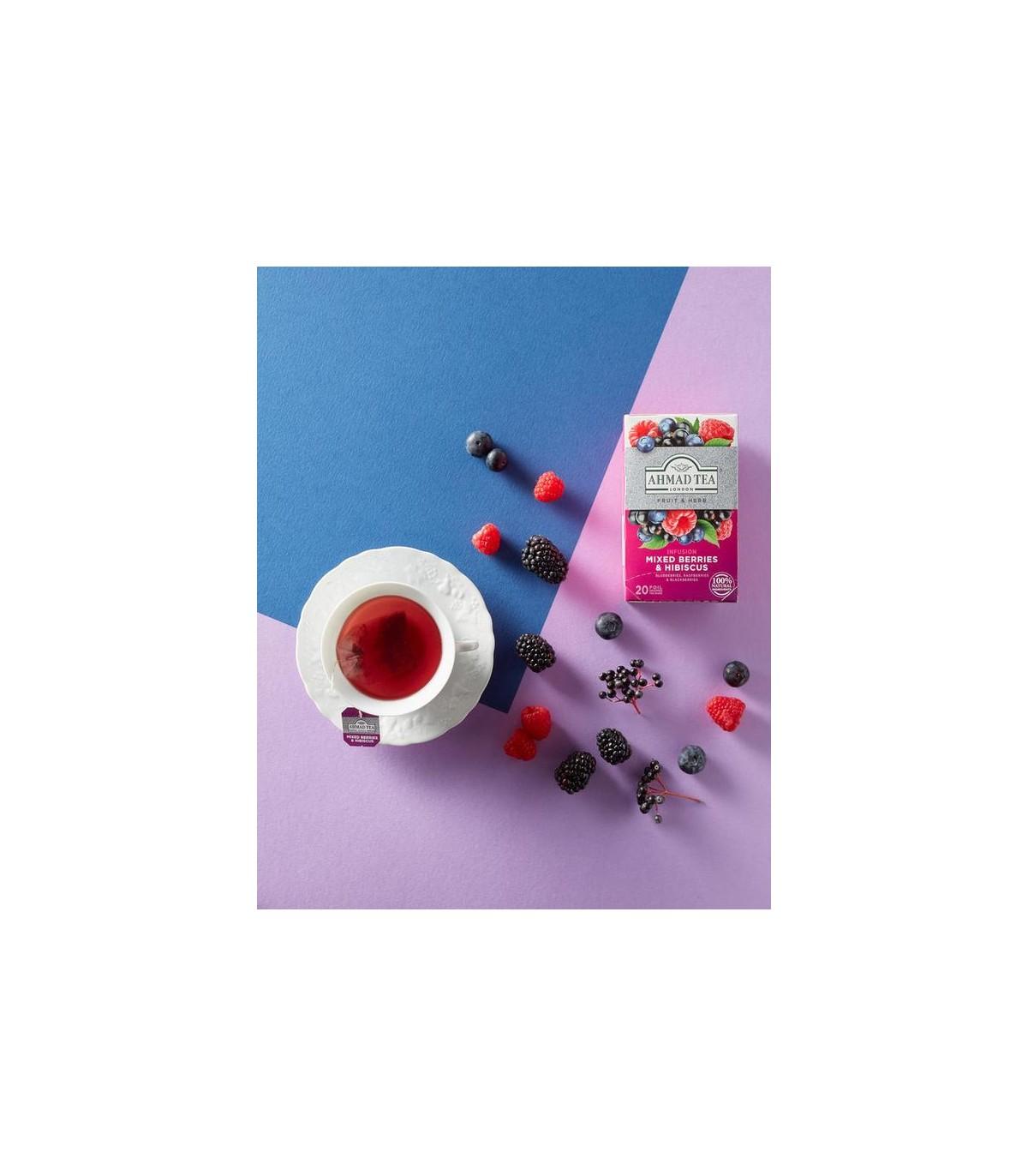 Ahmad tea دمنوش مخلوط بری ها و چای ترش 20 عددی احمد تی
