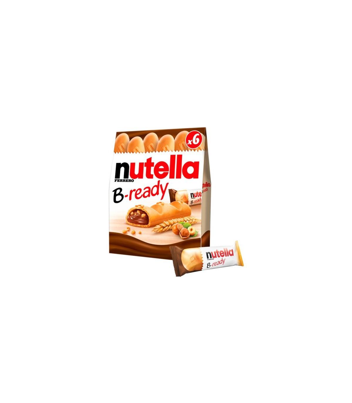 Nutella بیسکويیت 6 عددی بی ردی نوتلا