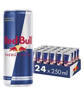 Red bull پک 24 عددی نوشیدنی انرژی زای 250 میلی لیتری ردبول