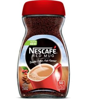 Nescafe قهوه فوری 100 گرمی کلاسیک رد ماگ نسکافه