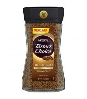 Nescafe قهوه فوری تیسترز چویس فرنچ رست 198 گرمی نسکافه