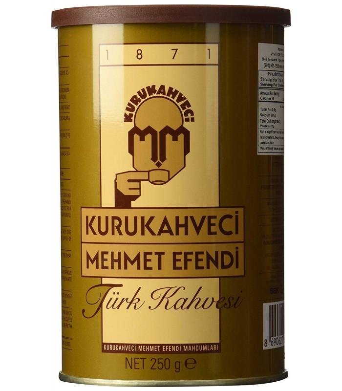Mehmet Efendi  قهوه ترک 250 گرمی مهمت افندی