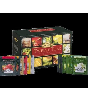 Ahmad tea چای 12 طعم 60 عددی احمد انگلستان