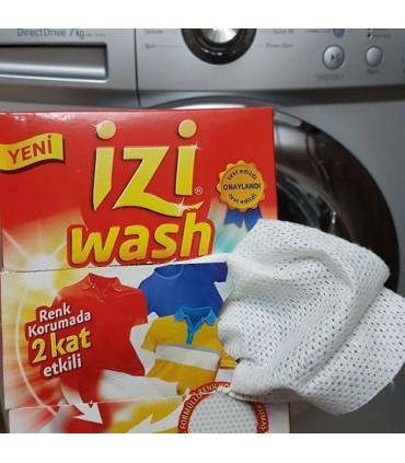 Izi wash دستمال ضد رنگ دهی لباس ایزی واش