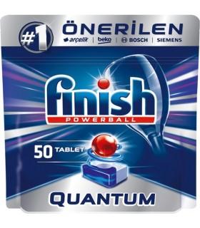 Finish قرص ماشین ظرفشویی کوآنتوم 50 عددی فینیش