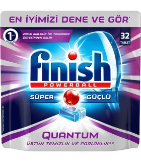 Finish قرص ماشین ظرفشویی کوانتوم 32 عددی فینیش