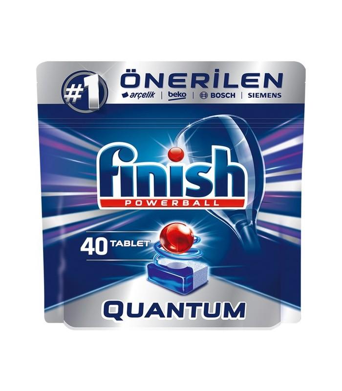 Finish قرص ماشین ظرفشویی کوانتوم 40 عددی فینیش