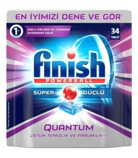 Finish قرص ماشین ظرفشویی کوانتوم 34 عددی فینیش