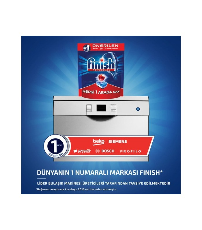 Finish قرص ماشین ظرفشویی همه کاره 100 عددی فینیش