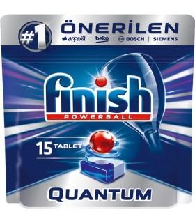 Finish قرص ماشین ظرفشویی کوآنتوم 15 عددی فینیش