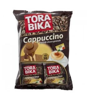 Torabika کاپوچینو 20 عددی همراه با پودر شکلات ترابیکا