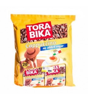 Torabika کاپوچینو رژیمی بدون قند همراه با پودر شکلات 20 عددی ترابیکا