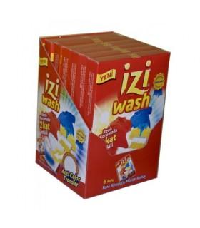 Izi wash دستمال ضد رنگ دهی لباس 12 عددی 6 عددی ایزی واش
