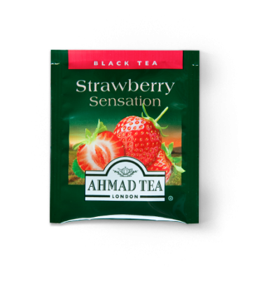 Ahmad tea چای توت فرنگی 20 عددی احمد انگلستان