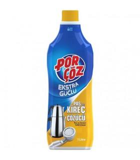 Porcoz مایع جرم گیر استیل 1 لیتری پورچوز
