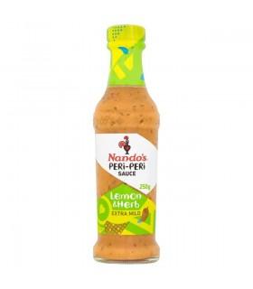Nandos سس لیمو و سبزیجات خیلی ملایم 250 گرمی ناندوز