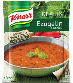 Knorr سوپ آماده ازوگلین کنور