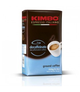Kimbo پودر قهوه اسپرسو دی کافئین 250 گرمی کیمبو