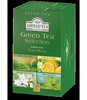 Ahmad Tea چای سبز با 4 طعم مختلف 20 عددی احمد انگلستان