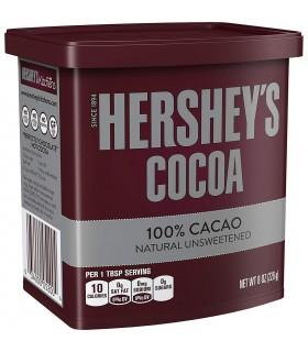 Hersheys پودر کاکائو خالص بدون شکر 226 گرم هرشیز